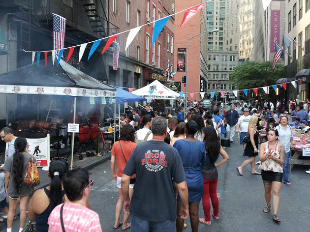 Fourth of July Pig Roast at Iron Horse NYC