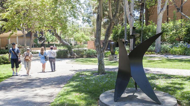 UCLA's Franklin D. Murphy sculpture garden
