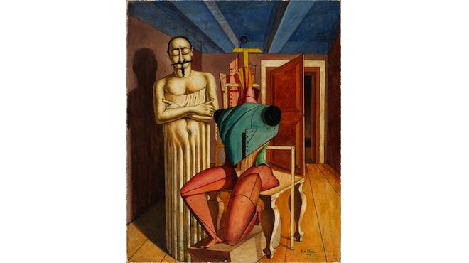 'Il Ritornante' de Giorgio de Chirico au Centre Pompidou