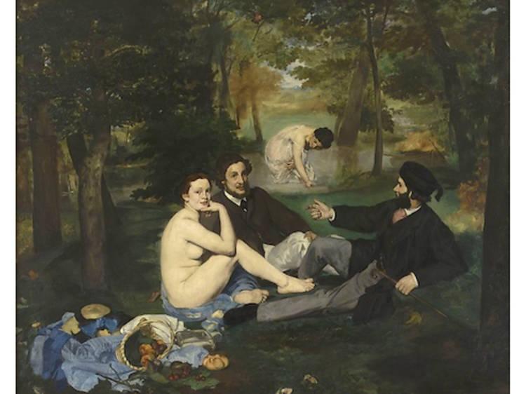 Musée d'Orsay • Le Déjeuner sur l'herbe (Edouard Manet, 1863)