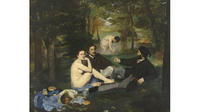 'Le Déjeuner sur l'herbe' d'Edouard Manet