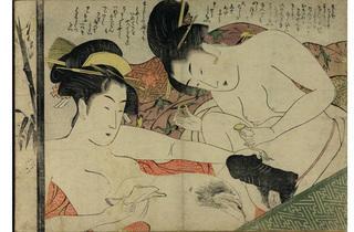 Japanese erotic print, 1801