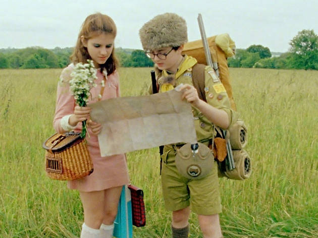Outdoor cinema 2014: Moonrise Kingdom