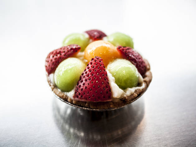 Fruit tartlet at Taipan Bakery