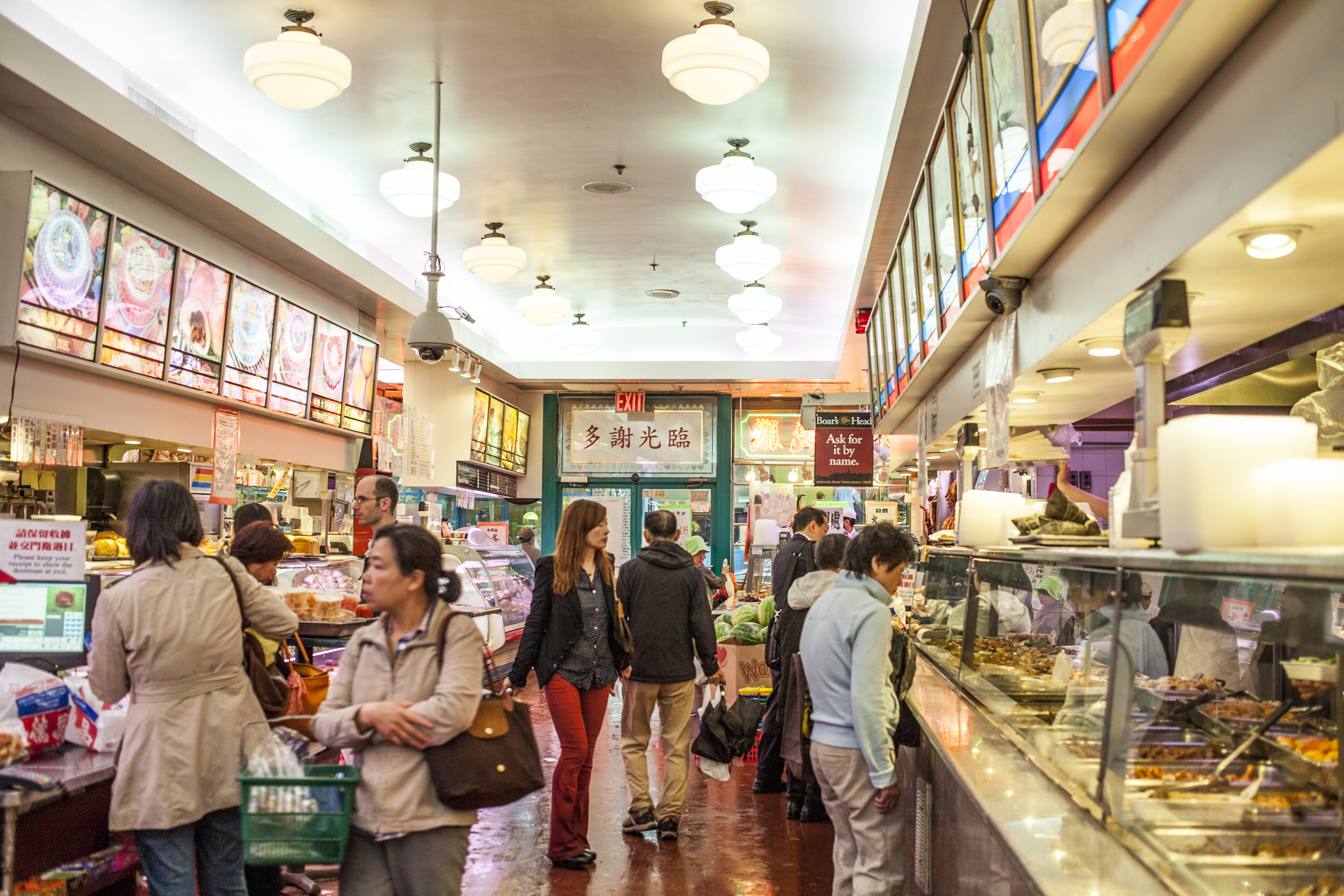 Deluxe Food Market Shopping In Chinatown New York