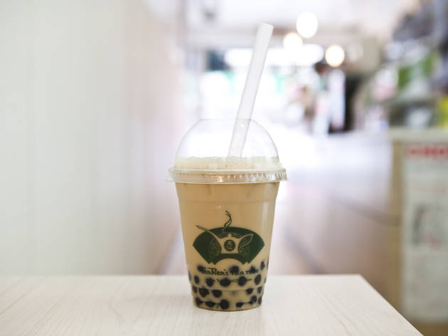 Regular Bubble Tea at Ten Ren