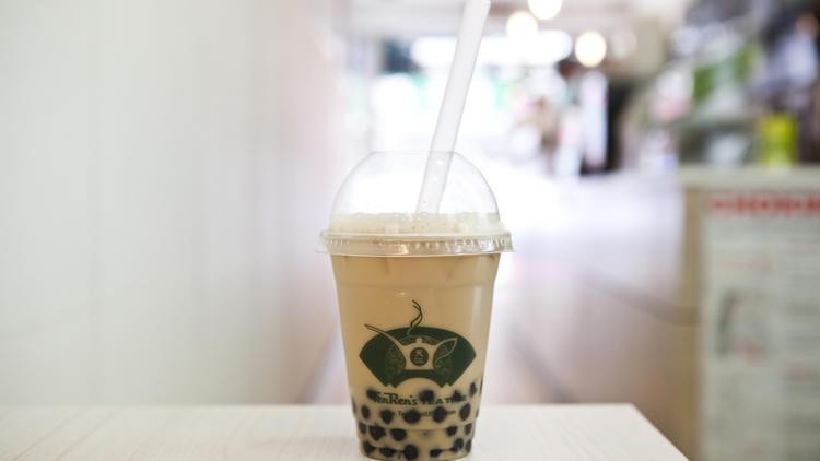 Regular Bubble Tea at Ten Ren