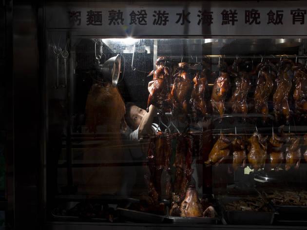 Roasted duck at Pho Hoang (Photograph: Todd Coleman)