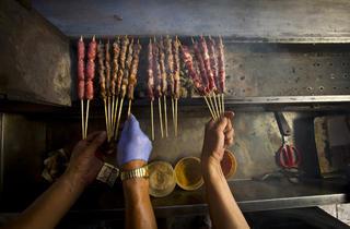 Xinjiang BBQ Cart