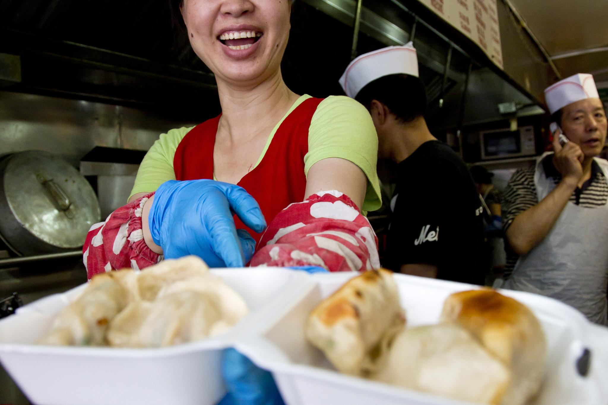 Dollar dumplings: Zhu Ji Dumpling Stall