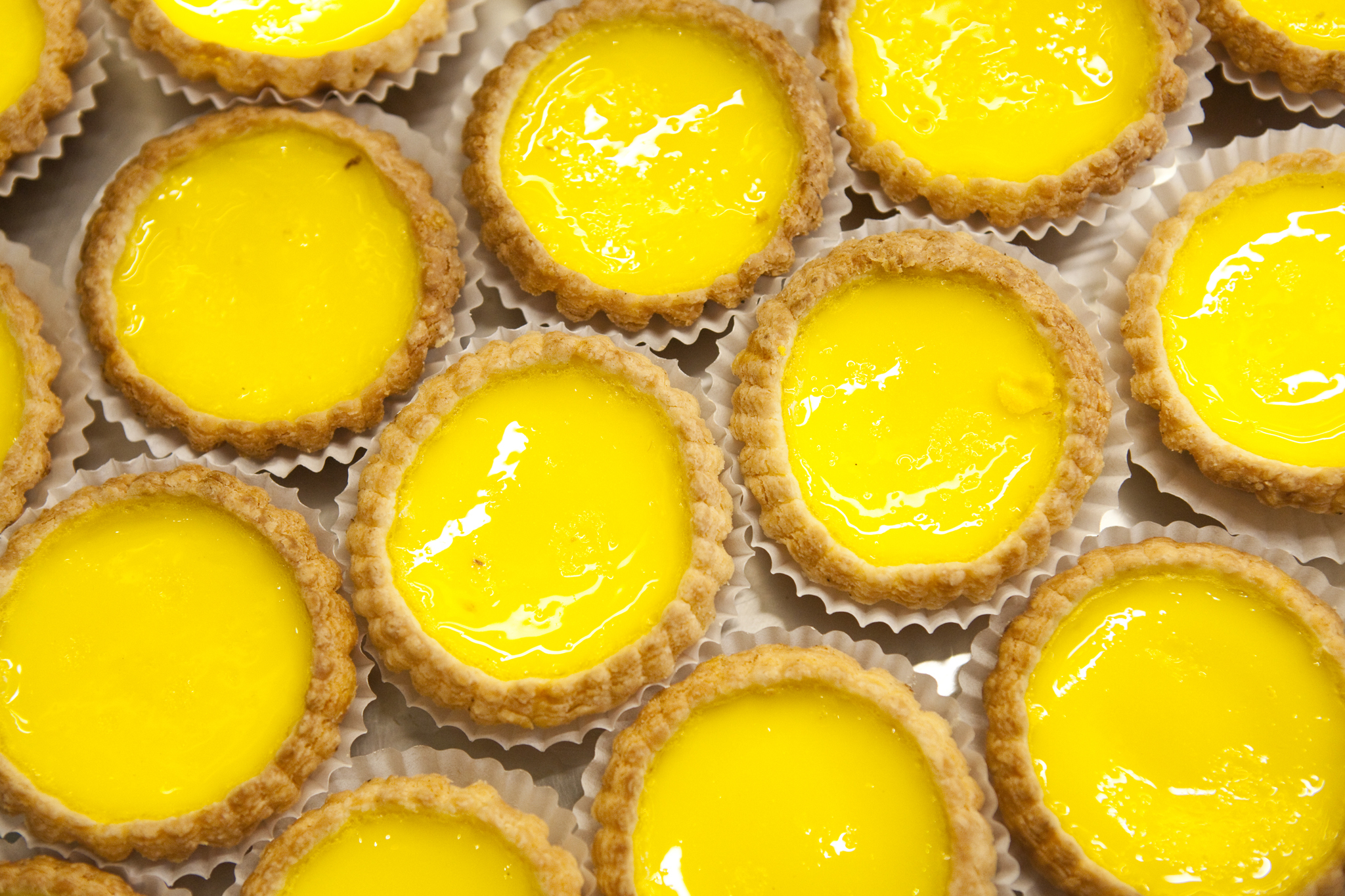 Egg tart: Dragon Bay Bakery