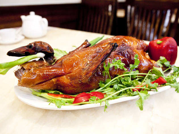 Roast Duck at Lucky 8
