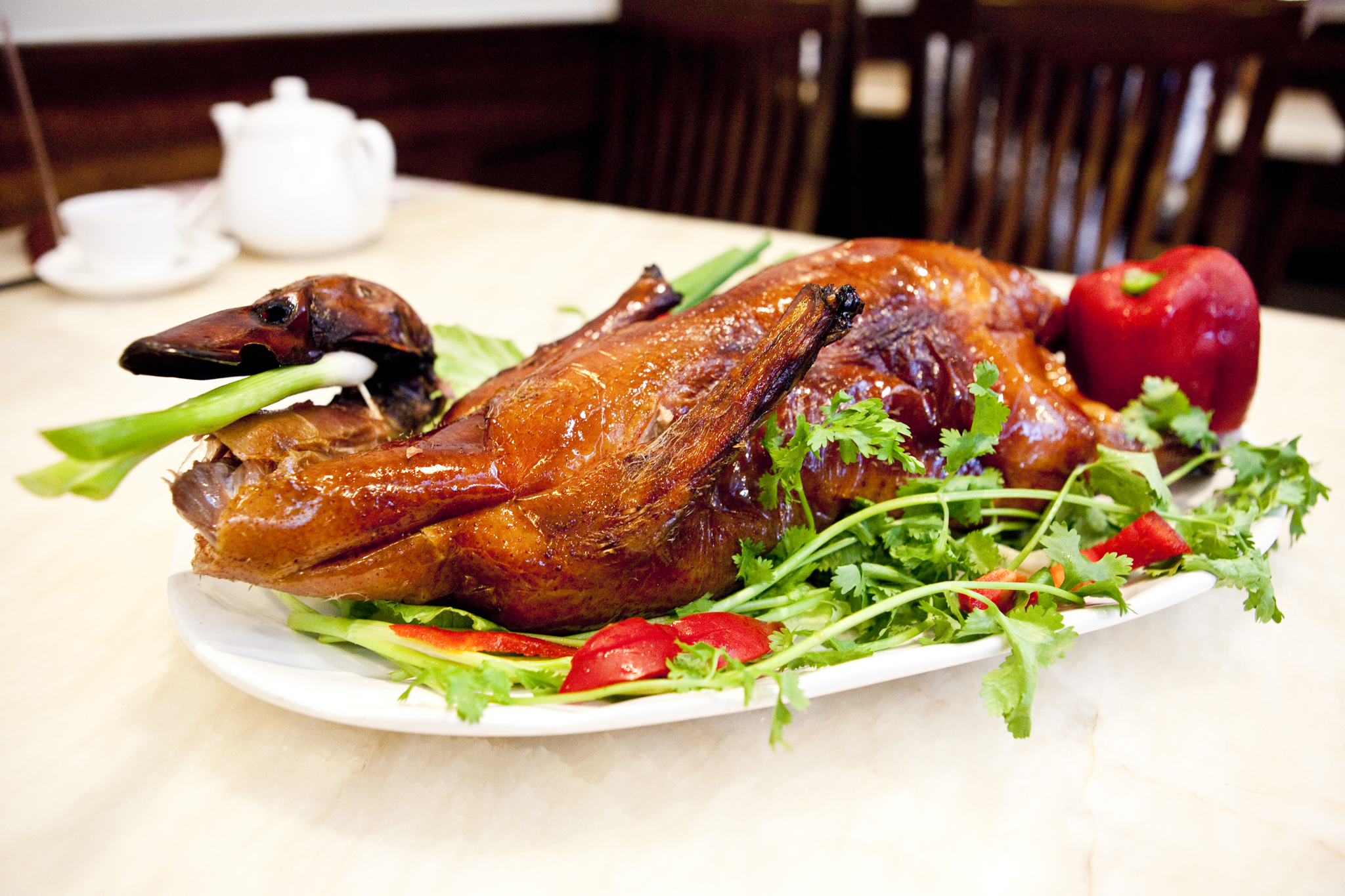 Roasted duck: Lucky Eight
