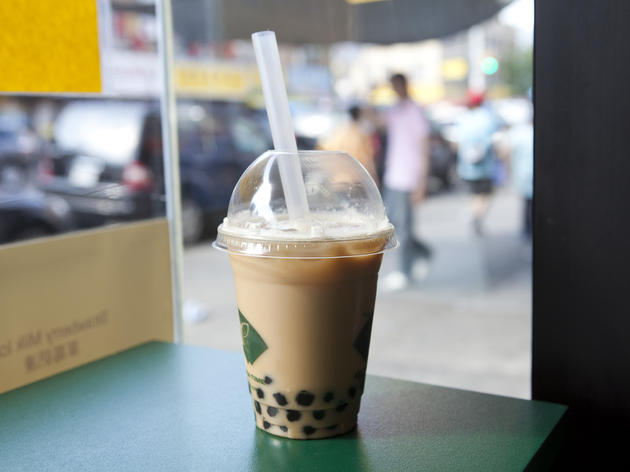 Regular Bubble Tea at Ten Ren Tea