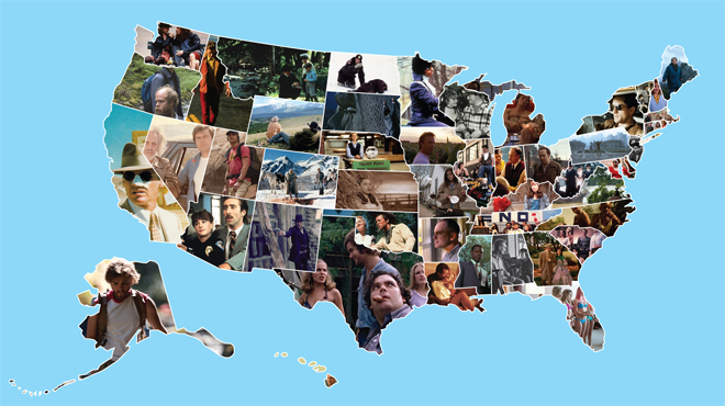 50 American films, 50 states