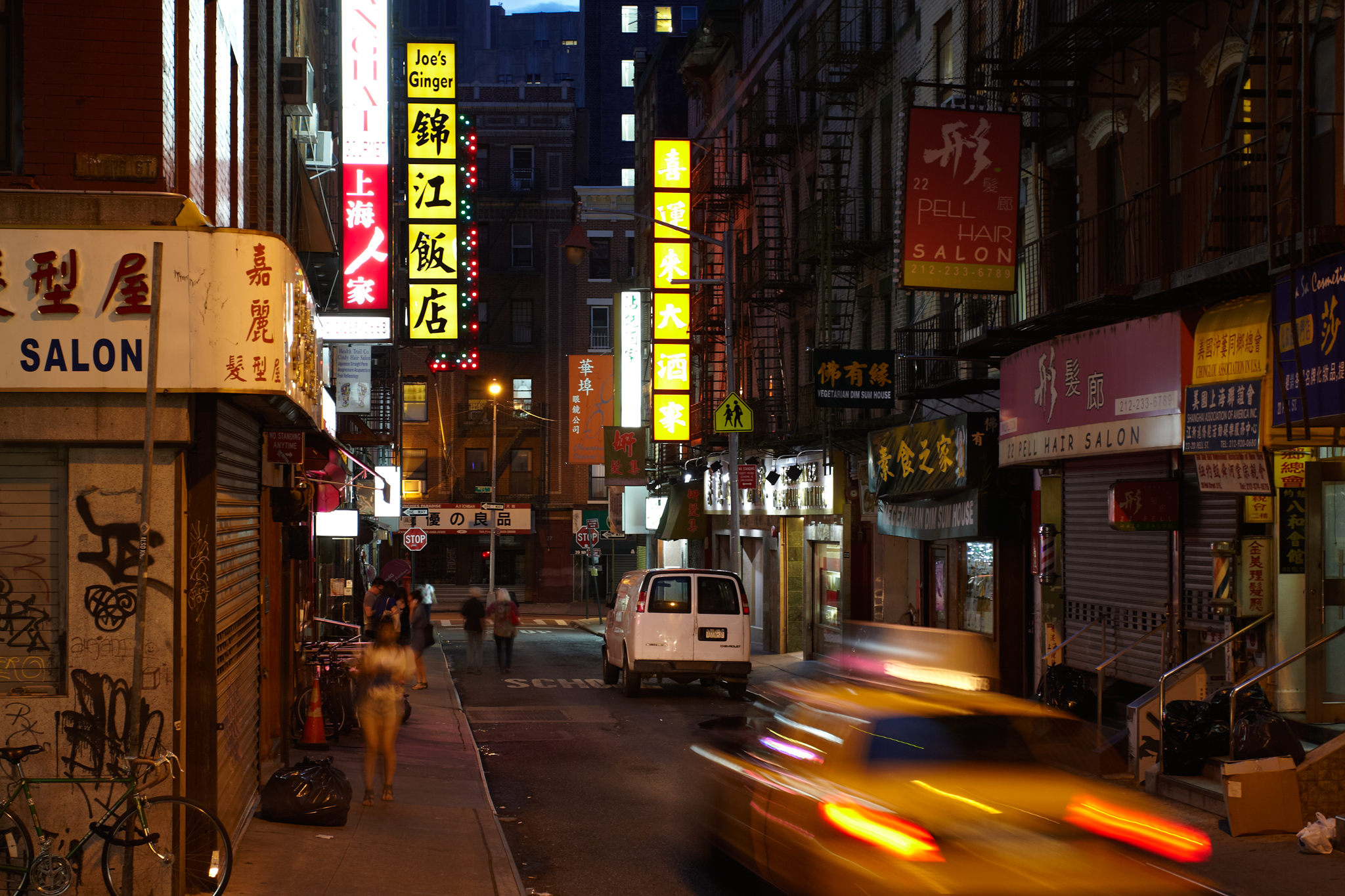 New York's original Chinatown