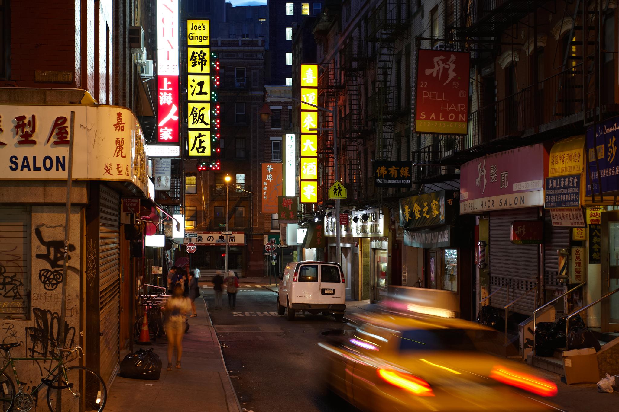 Gotham's original Chinatown