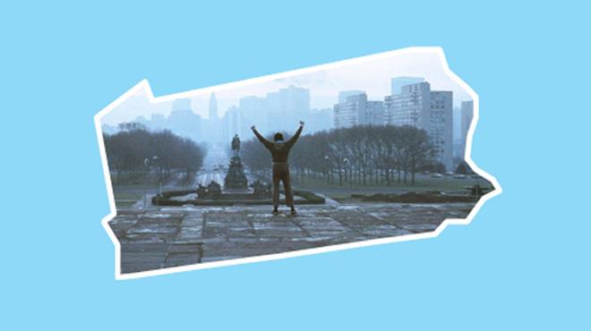 Pennsylvania: Rocky (1976)