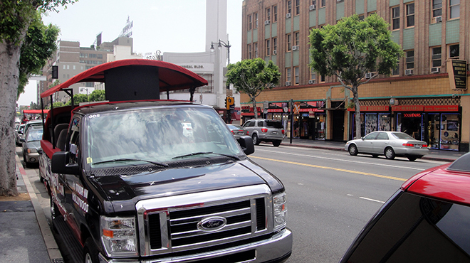 Hollywood Blvd van tours