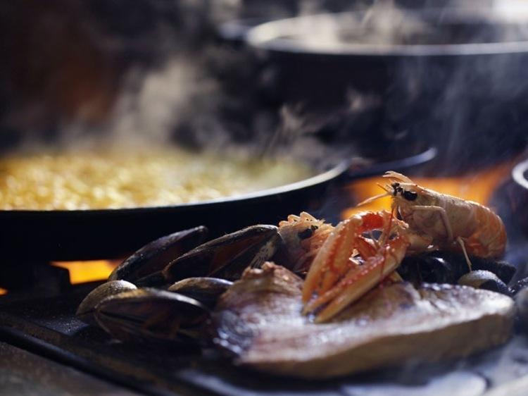 Paellas espectaculares de la Barceloneta