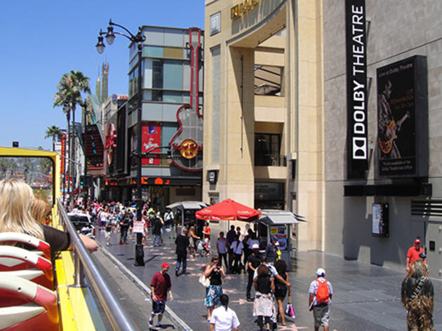 Sightseeing guide to Hollywood