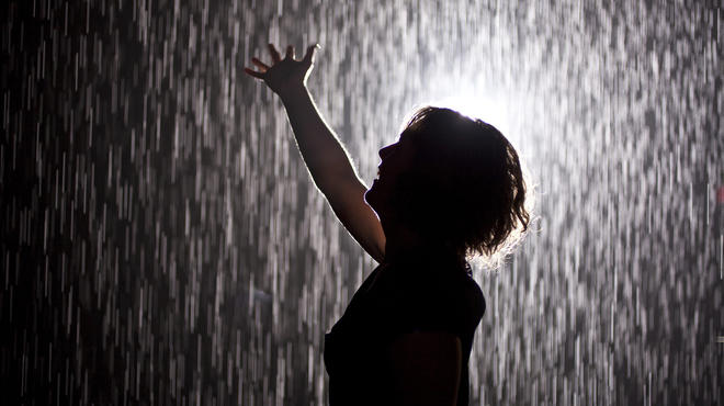 Rain Room by rAndom International at the Museum of Modern Art