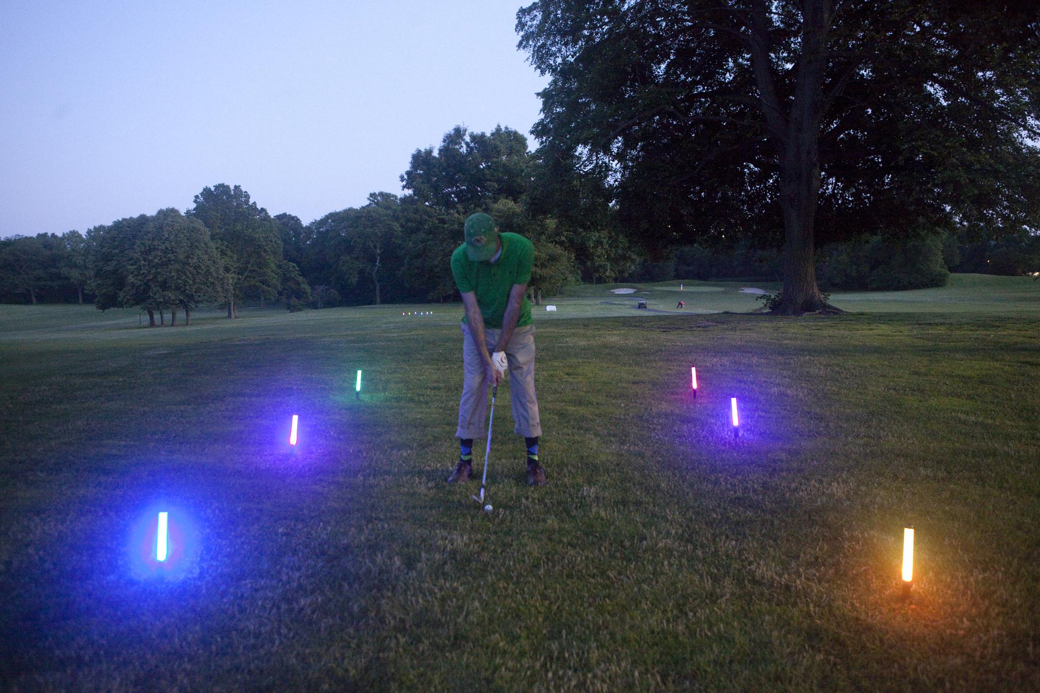 Sweat box: Cosmic Golf (2013)