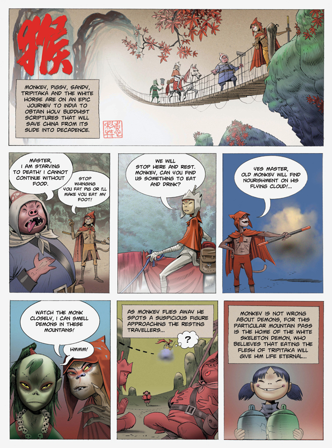 monkey journey to the west A celebrated rock odyssey by the creators of gorillaz makes its way to lincoln center.