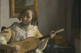 'The Guitar Player', 1672 (by Johannes Vermeer)