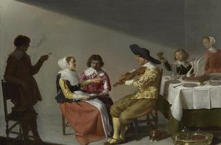 'A Musical Party', 1631 (by Jacob van Velsen )