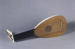 Lute, about 1630