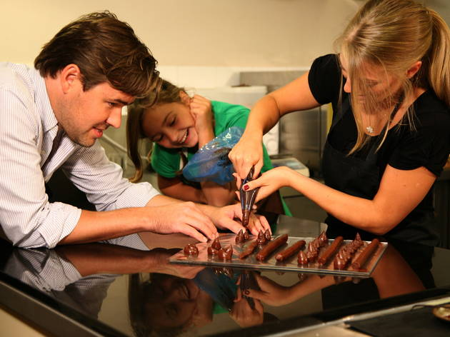 William Curley truffle class
