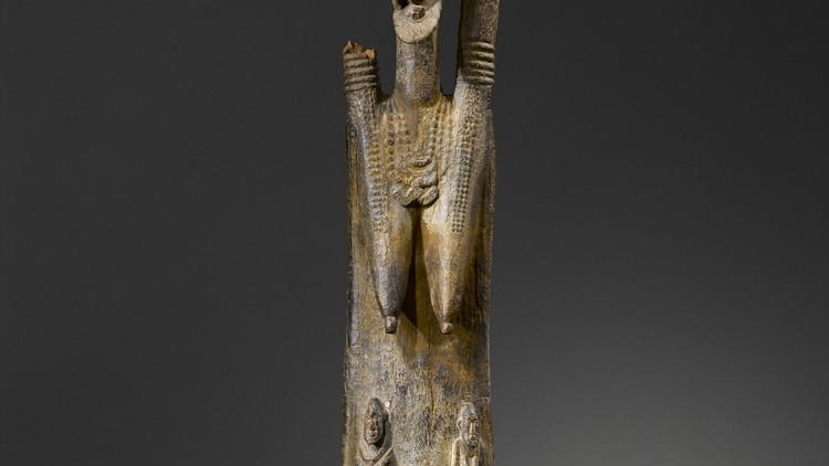 Statue anthropomorphe, Mali, c. Xe siècle / © musée du quai Branly / Photo : Hughes Dubois