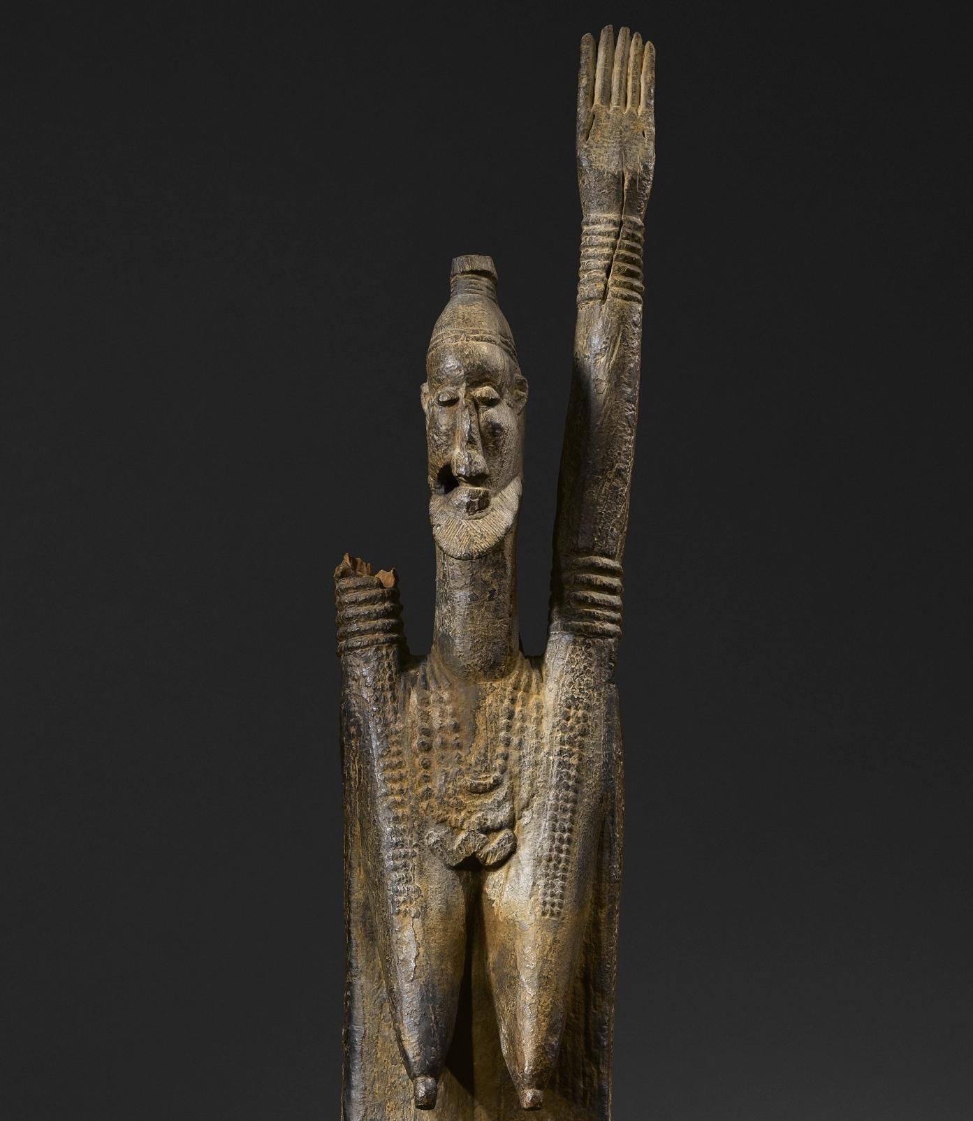 Musée du Quai Branly • Statue anthropomorphe