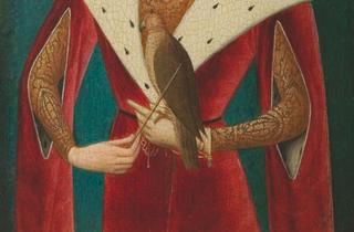 (Maître de la Légende de sainte Madeleine, 'Portrait de Philippe le Beau' (détail), XVe siècle / Dépôt du Louvre / © Paris, musée de la Chasse et de la Nature / Sylvie Durand)