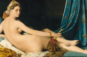 Musée du Louvre • Une odalisque
