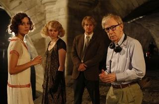 Cinema al fresco: Midnight in Paris