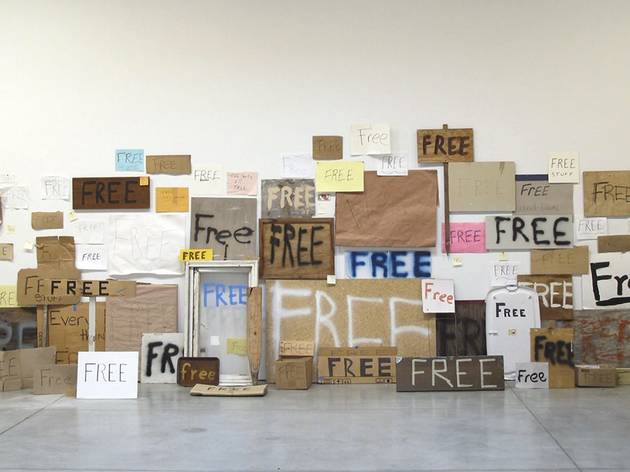 Peter Liversidge ('Free Signs')