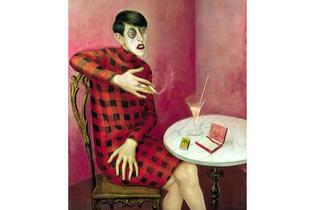 Otto Dix, 'Bildnis der Journalistin Sylvia von Harden' au Centre Pompidou