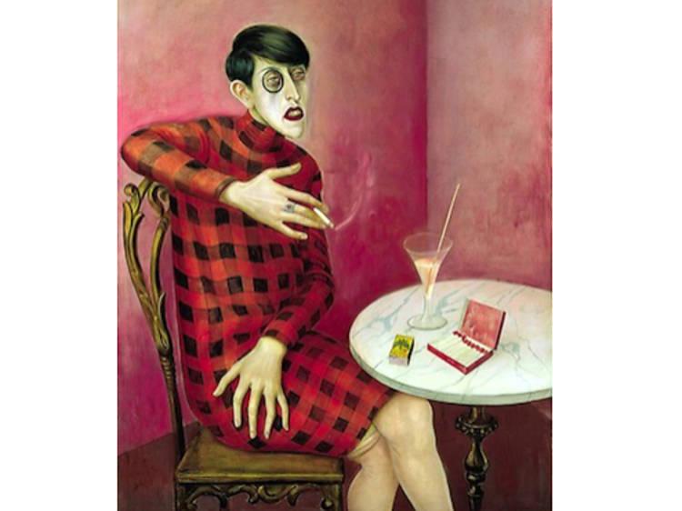 Bildnis der Journalistin Sylvia von Harden d'Otto Dix