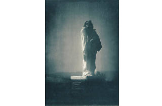 Auguste Rodin, 'Monument à Balzac' (photo D'Edward Steichen)