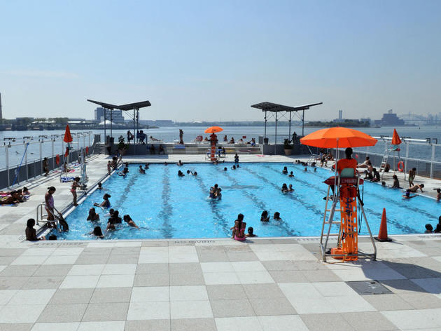 Cool off in the city's pools