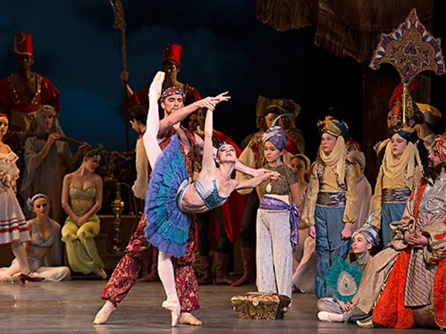 Isabella Boylston and Roddy Doble in Le Corsaire.