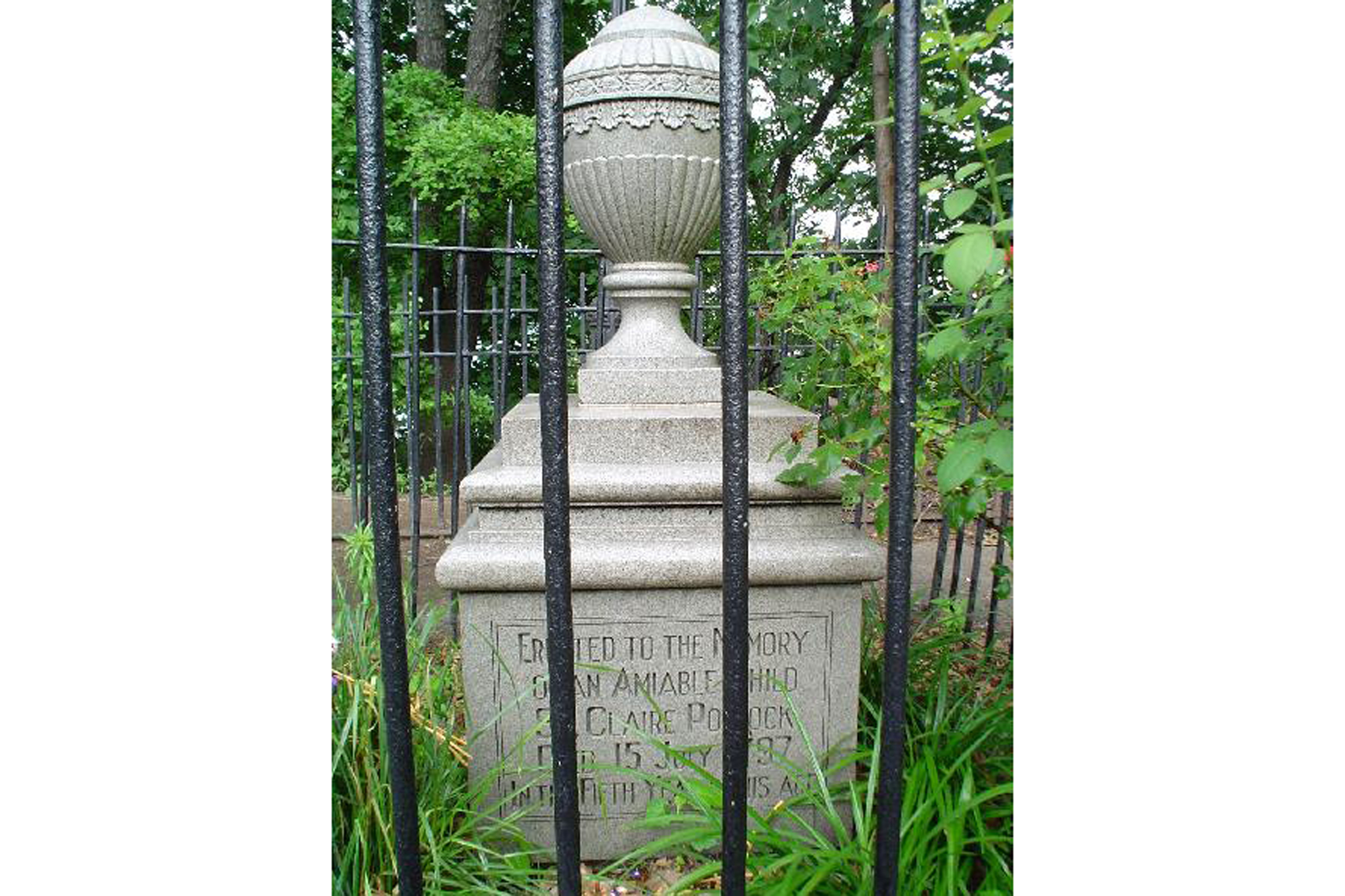 1797: Death of the Amiable Child, Riverside Park