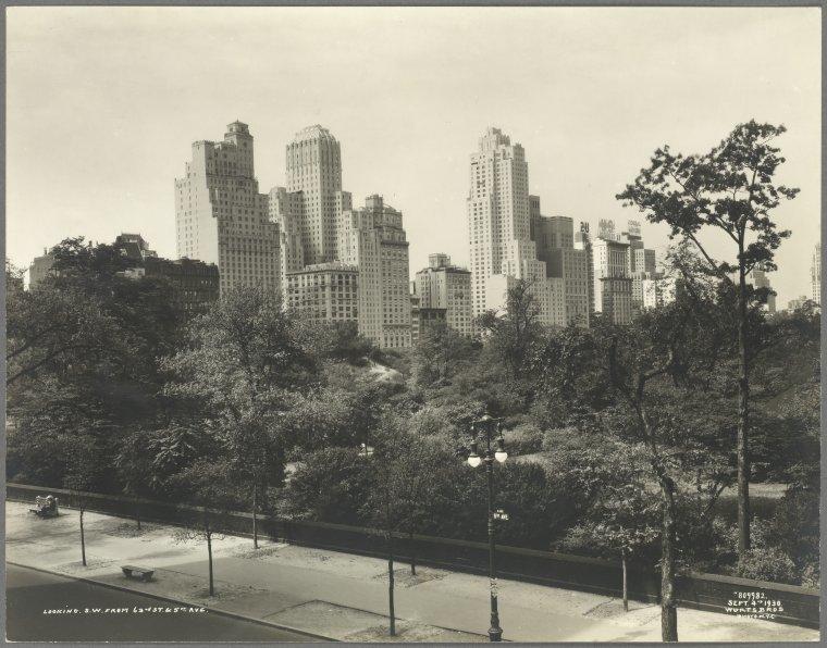 Central Park, 1930