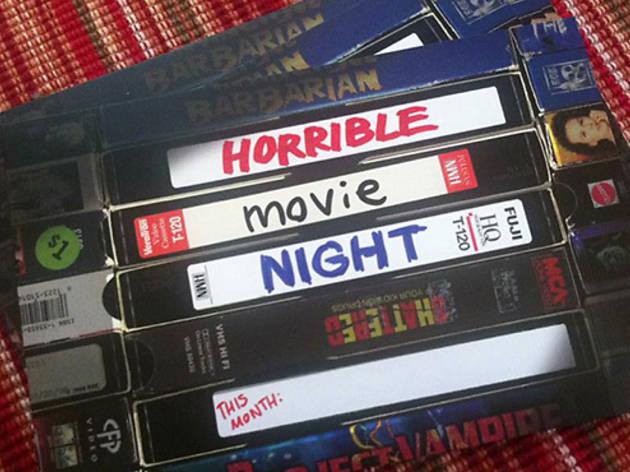Horrible Movie Night