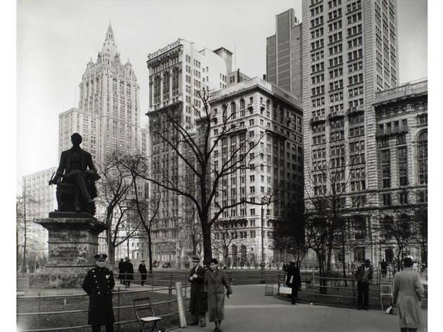 (Photograph: Berenice Abbott/Courtesy of the NYPL Archives)