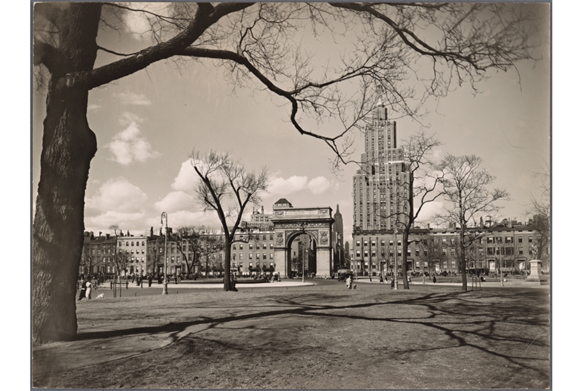 Washington Square Park, 1936