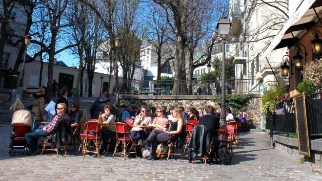 The best al fresco bars in Paris