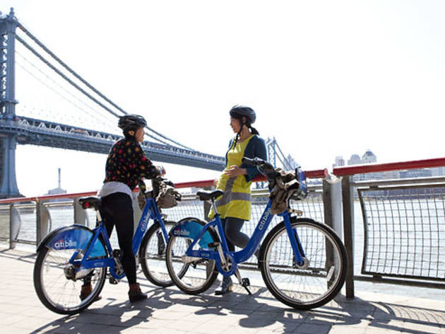 Bike NYC: Find four fantastic Citi Bike routes